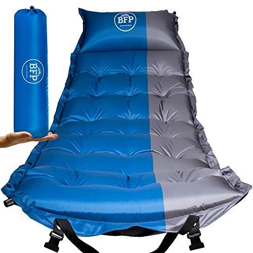 BFP Outdoors Premium Pad Mat/Camping Mattress with Pillow