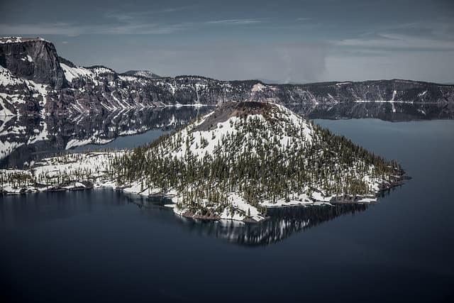 The Best Crater Lake Camping - Crater Lake Island