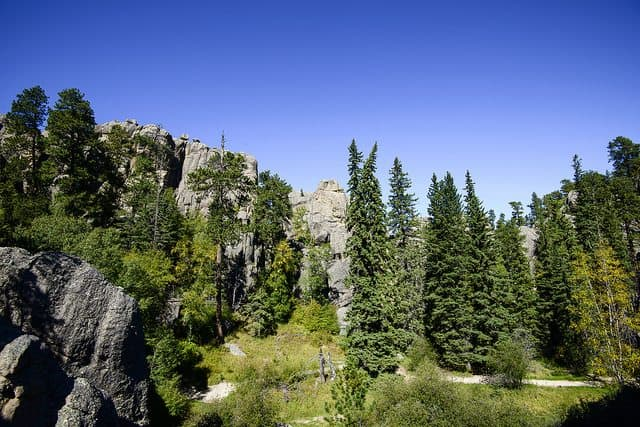 The Best Custer State Park Camping - Custer Mountain Campground & Cabins