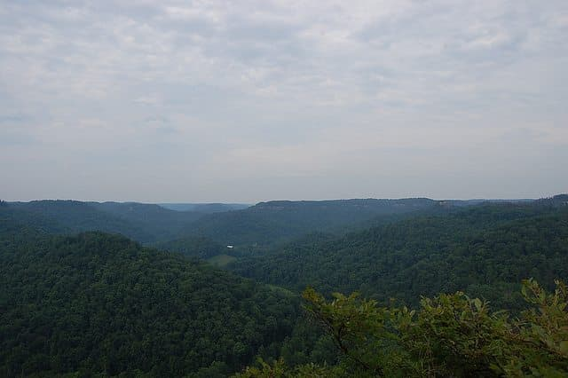 The best red river gorge camping - Central Daniel Boone National Forest