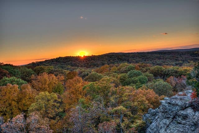 The best shawnee national forest camping - High Knob Campground