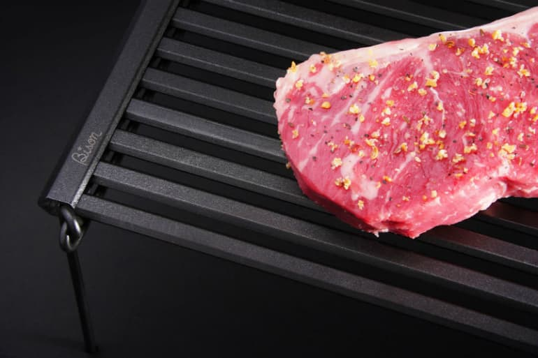 Bison Rolling Grill