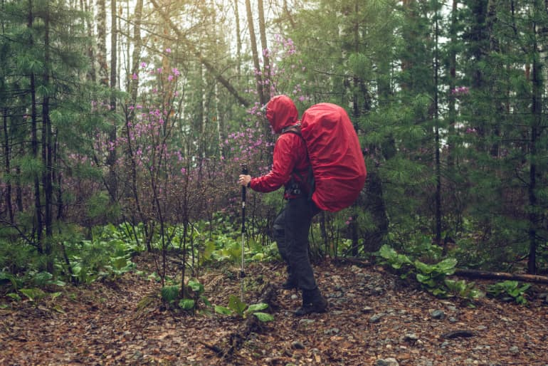 Rainwear: Durable Water Repellent (DWR) Care - Backpacking