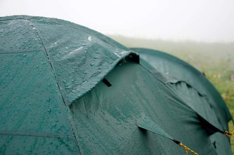 Rainwear: Durable Water Repellent (DWR) Care - Camping