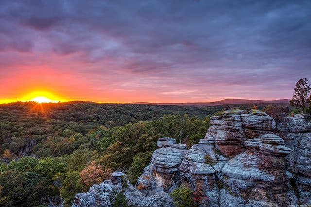 Best Camping in Illinois - Garden of the Gods