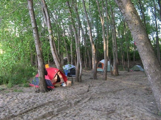 Best Camping in Illinois - Kayak Campground