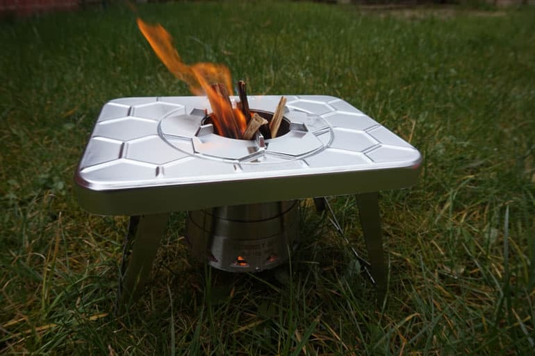 collapsible wood burning backpacking stove