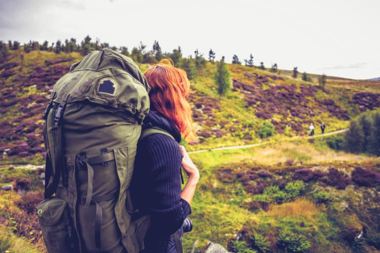 How to Pack and Hoist a Backpack - Size