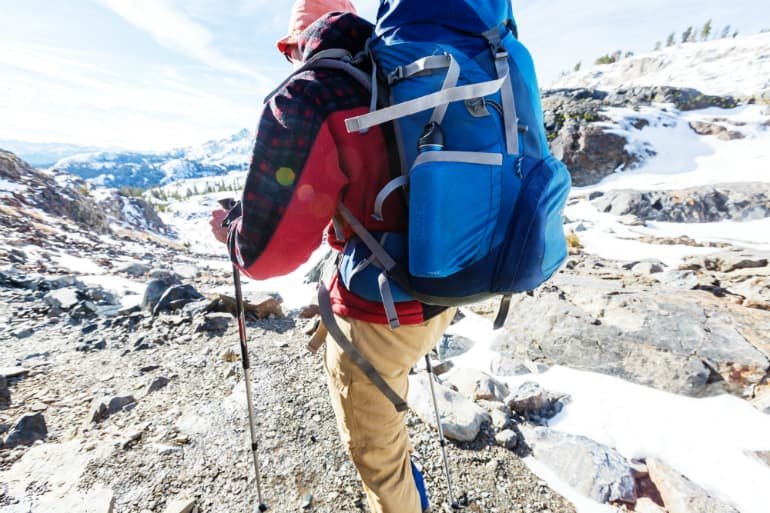 How to Pack and Hoist a Backpack - Storage Pockets