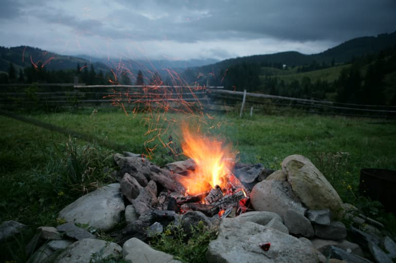 Sustainable Camping - Campfire