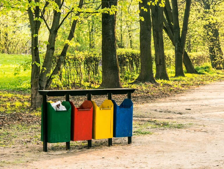 Sustainable Camping - Litter Disposal