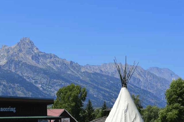 Best Camping in Grand Teton National Park - Teton Teepees