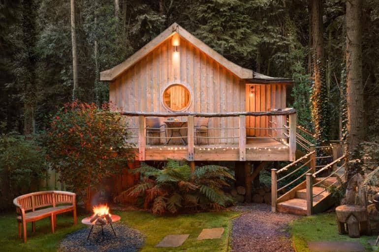 yurt retreat treehouse