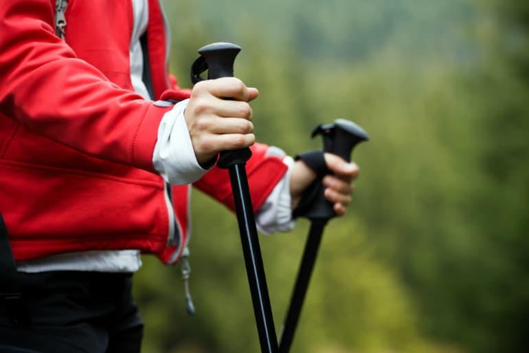 The Best Walking or Trekking Poles - Grip