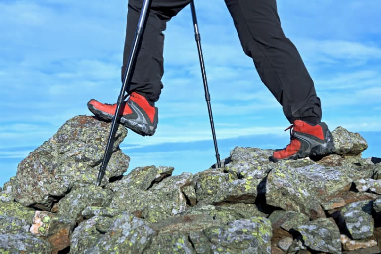 The Best Walking or Trekking Poles - Terrain
