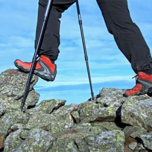 All walking and trekking poles look similar. How do you pick the right ones? Check out my guide on how to choose the best walking poles and trekking poles.
