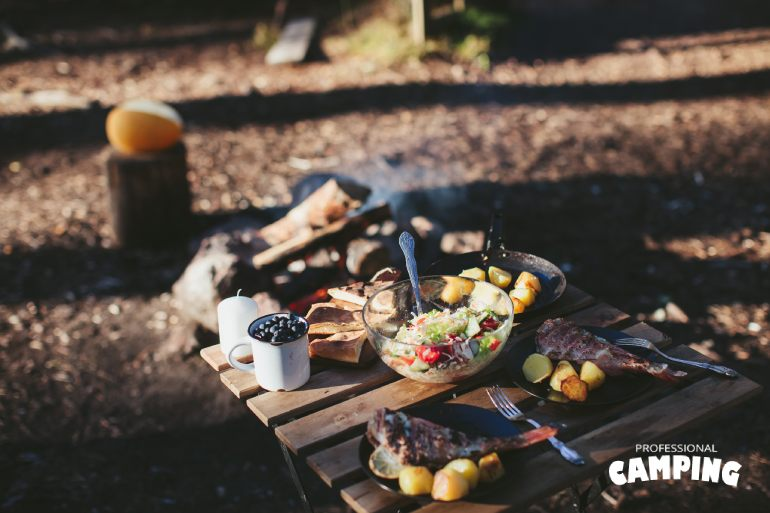 zero waste camping food